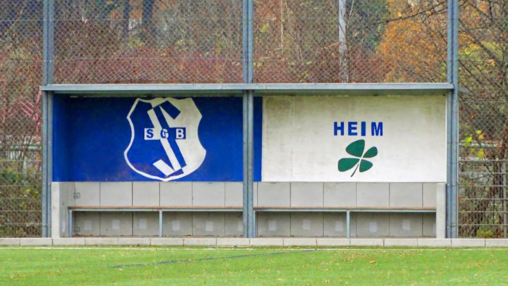 Trainerbank bei der SG Bornheim