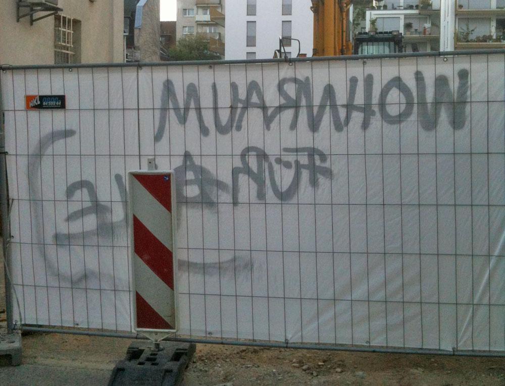 """Protest am Berger Palais: """"Wohnraum für alle"""""""