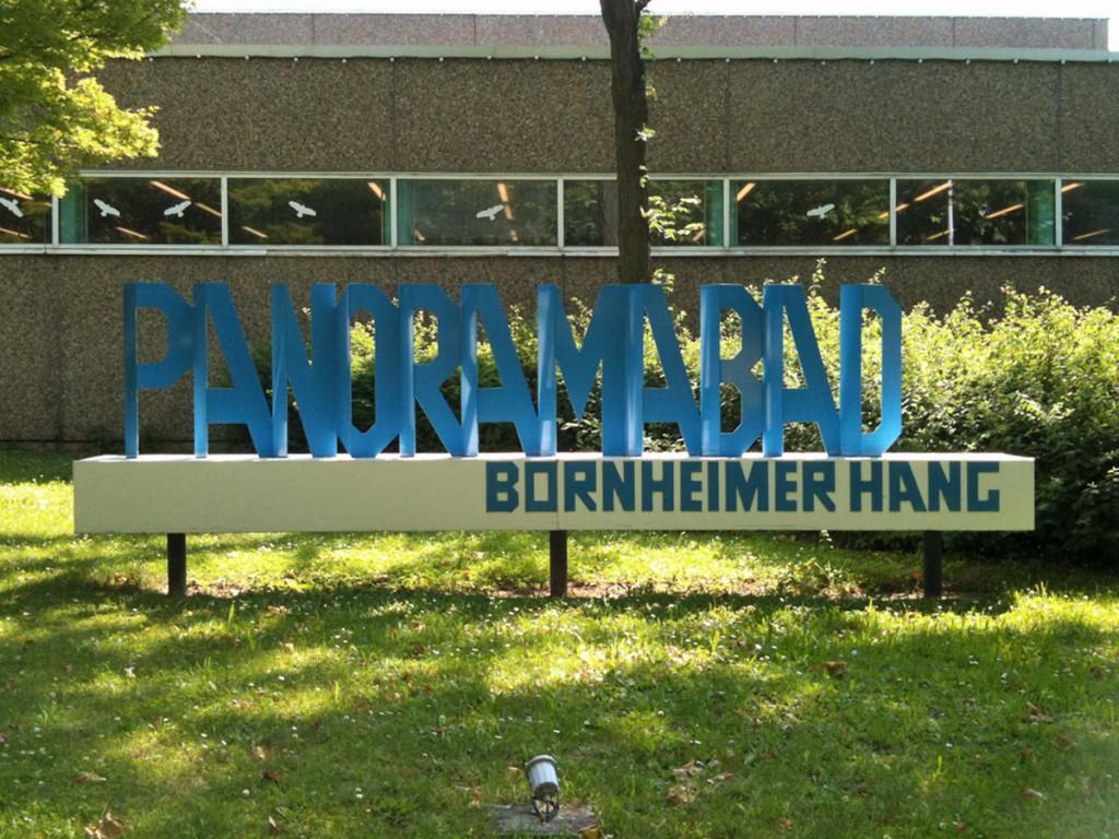 Das Panoramabad in Bornheim