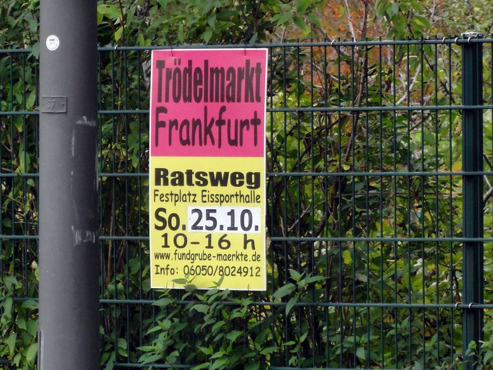 Trödelmarkt Frankfurt