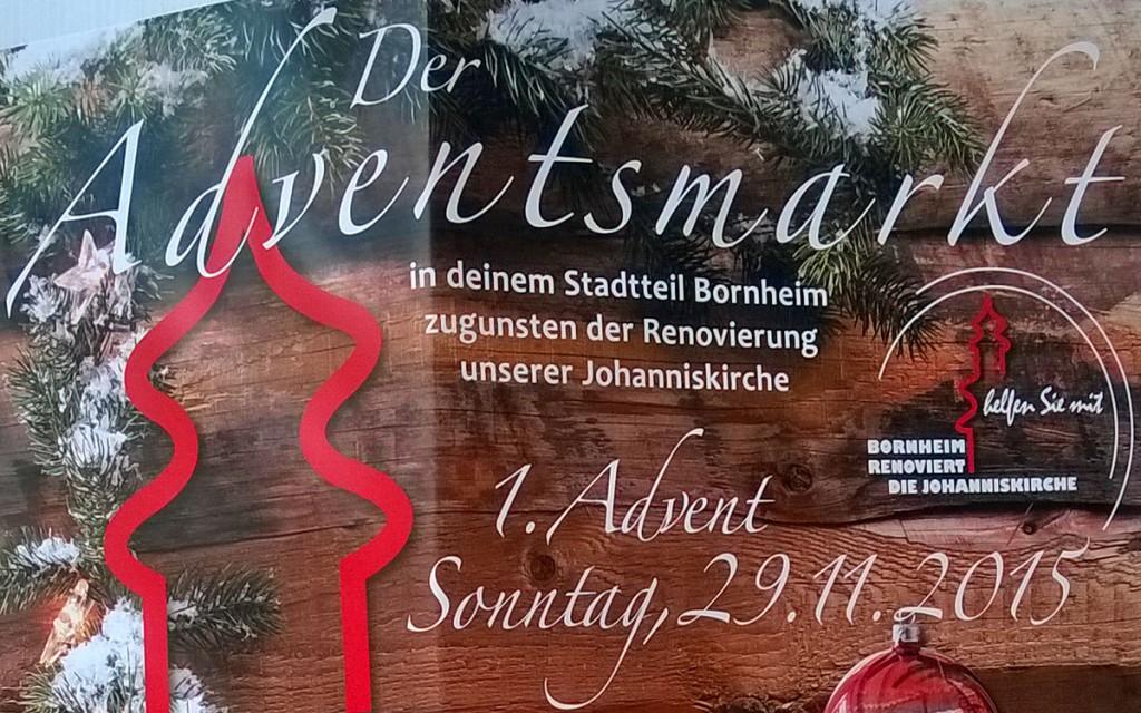 Adventsmarkt in Frankfurt Bornheim 29.11.2015