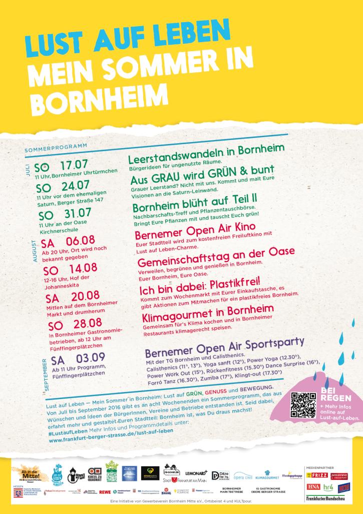 Lust auf Leben - Mein Sommer in Bornheim