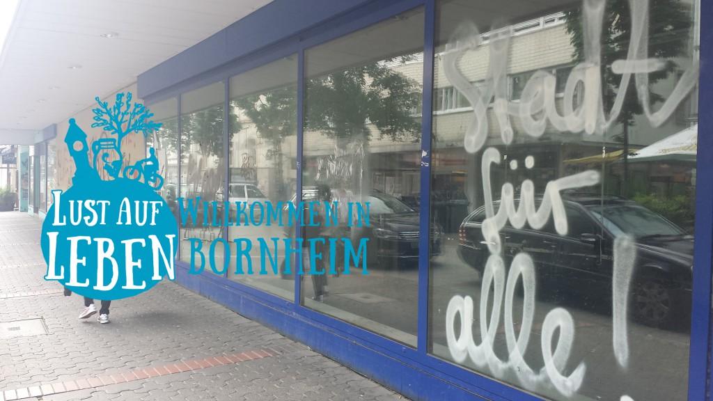 Lust auf Leben und ehemaliger Saturn in Bornheim