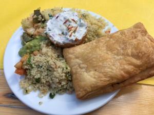 Selbst gemachtes Essen von der SG Bornheim und dem Mukiva - plastikfrei
