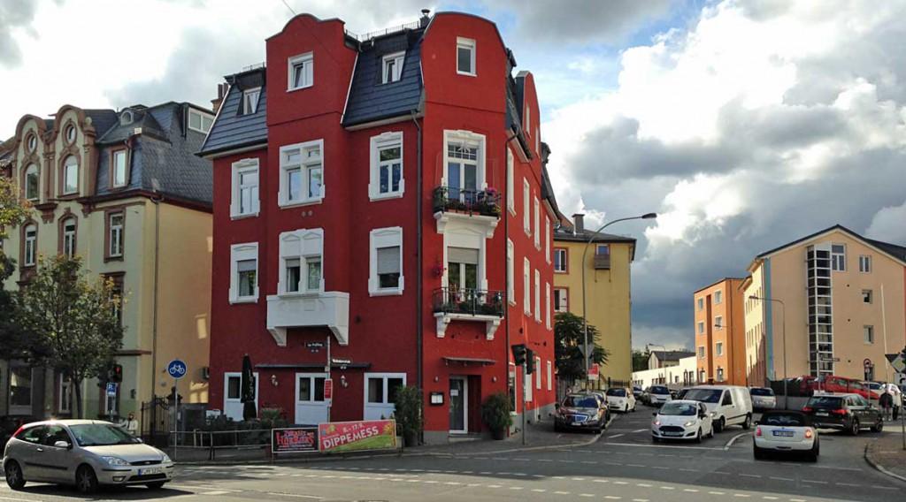 Haus in Bornheim mit der Burgery