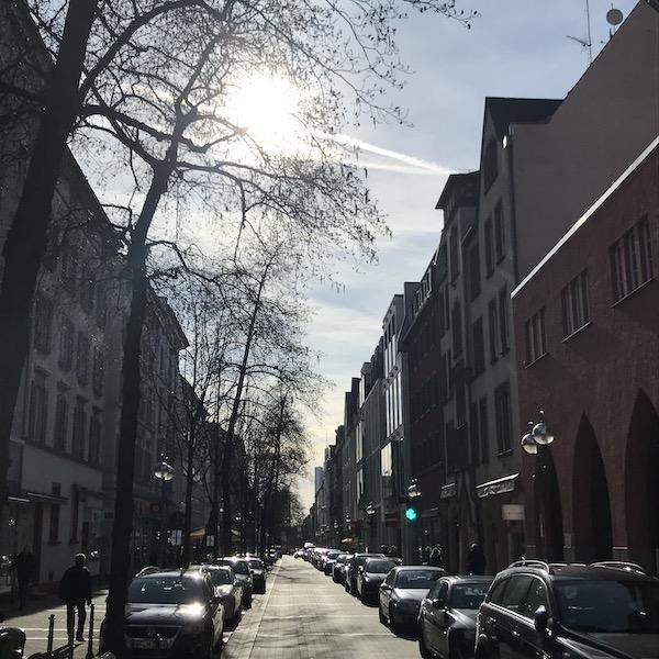 Berger Straße in bornheim
