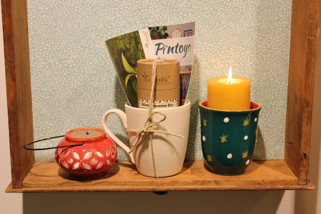 Geschenkesets von Teatastic und Pintoyo