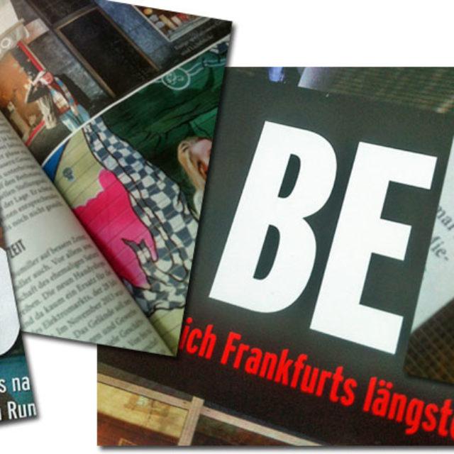 """""""DIE BERGER"""" im neuen Journal Frankfurt"""