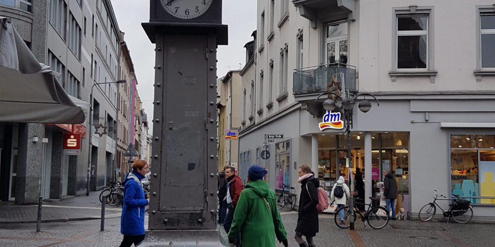 Das Uhrtürmchen auf der Berger Straße
