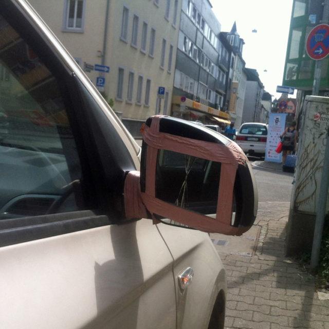 Bornheims vielleicht beschissenste Straße für Fußgänger
