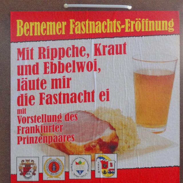 Bernemer Fastnachts-Eröffnung