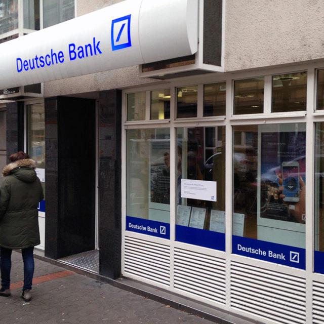 Deutsche Bank-Filiale in Bornheim schließt