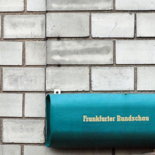 FR-Artikel zu Bornheim und der Berger Straße im Januar 2016