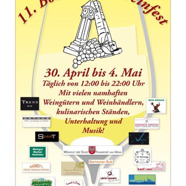 Bornheimer Weinfest 2014