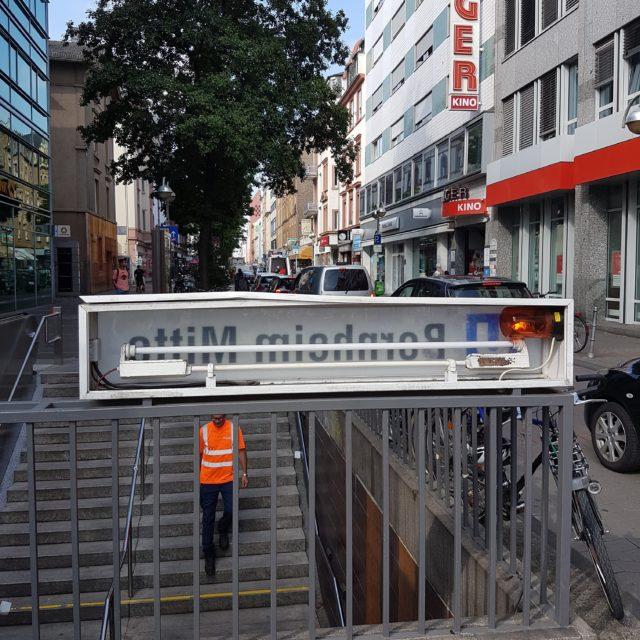 Bornheim Mitte U-Bahn Station