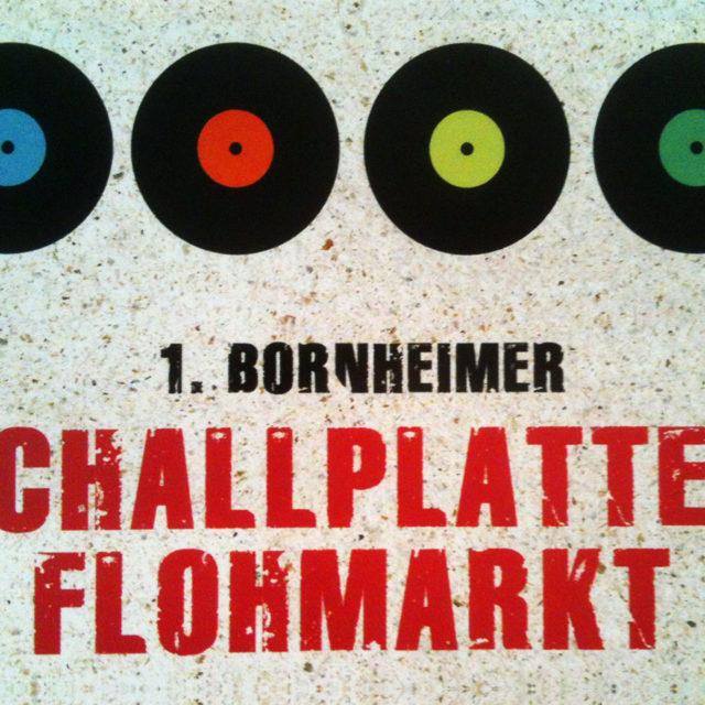 Stadtteilsonntag in Frankfurt: Schallplatten-Flohmarkt in Bornheim