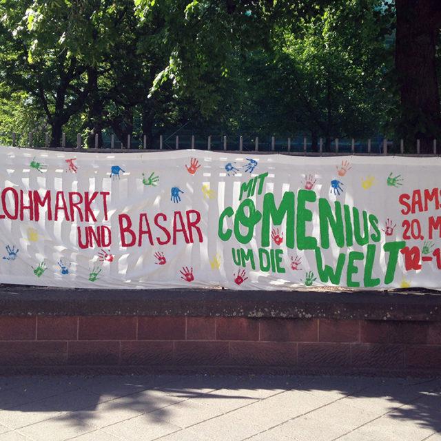Flohmarkt und Basar – Mit Comenius um die Welt
