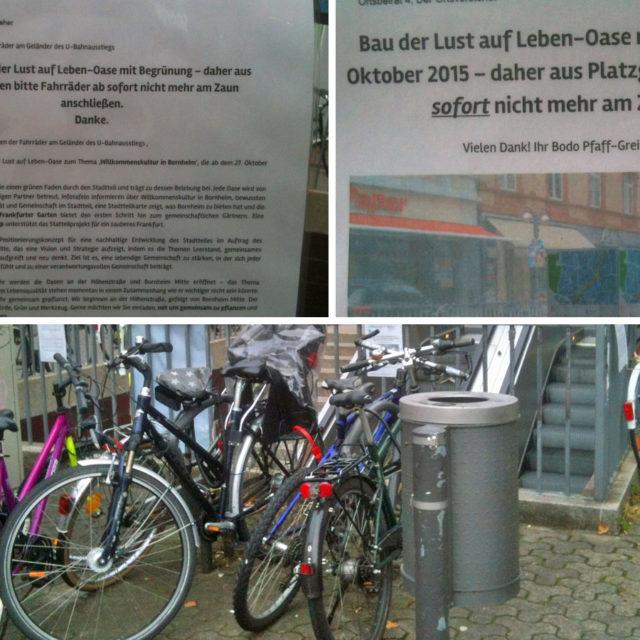 """Neue """"Lust auf Leben""""-Oasen an den U-Bahn-Stationen Höhenstraße und Bornheim Mitte"""