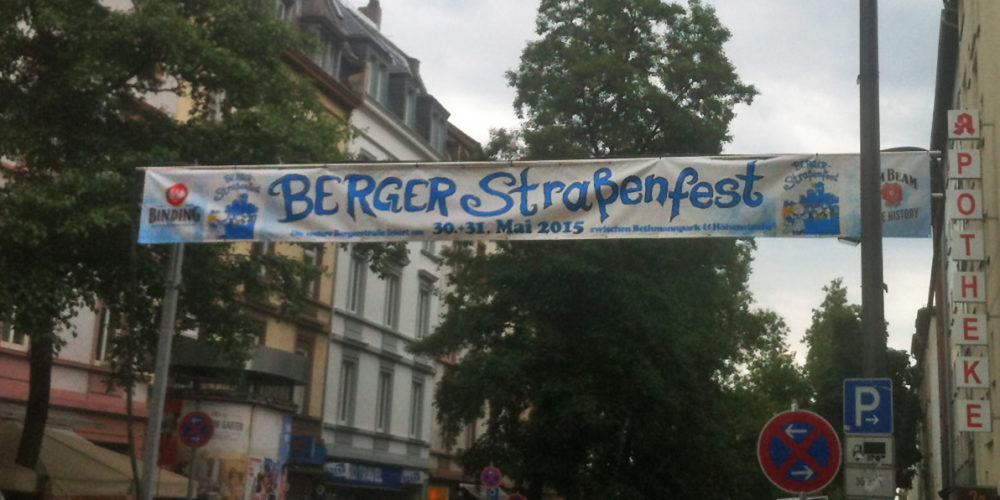 Berger Straßenfest am 30. und 31. Mai 2015