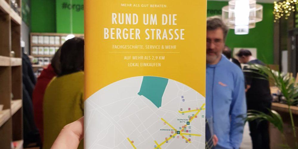 Einkaufen rund um die Berger Straße