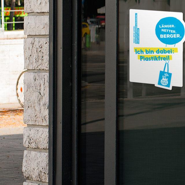 Ich bin dabei: Plastikfrei! auf der ganzen Berger Straße – Taschenstationen & Hintergrund