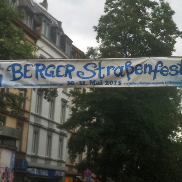 Berger Straßenfest am 4. und 5. Juni 2016