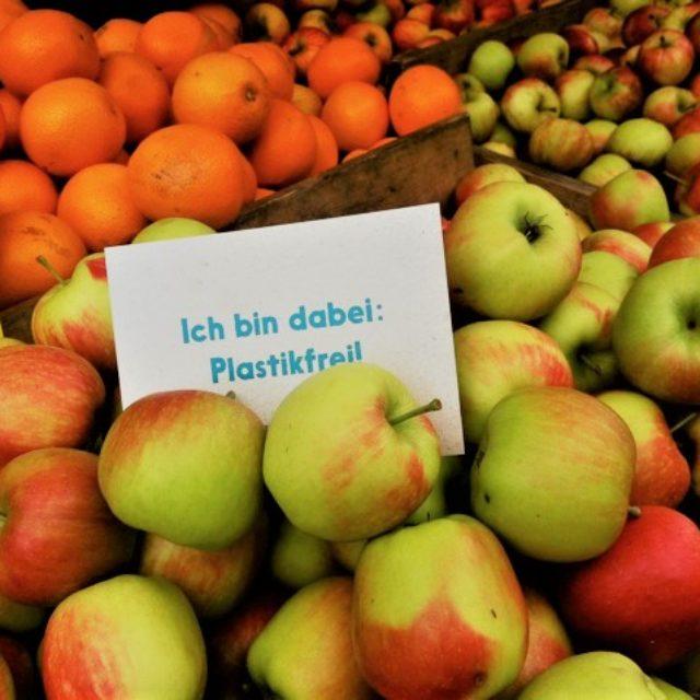 Aktionen im Überblick 'Ich bin dabei: Plastikfrei!' auf der Berger Straße