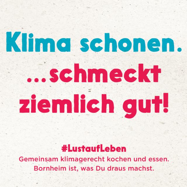 Klimagourmet in Bornheim – gemeinsam für's Klima kochen. In Bornheimer Gastronomiebetrieben Klassiker und Neues entdecken.