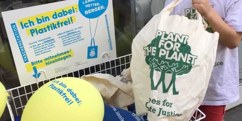 Statt Plastiktüten nun leere Stationen?