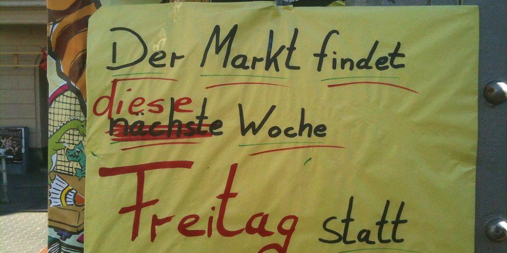 Wegen Feiertag: Bornheimer Wochenmarkt schon am Freitag