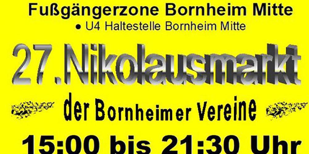 Nikolausmarkt in Bornheim