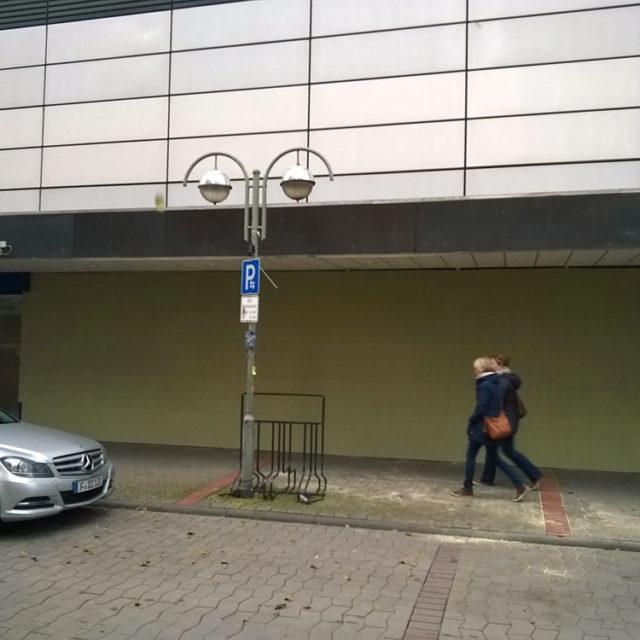 """""""Willkommen"""" auf der Berger Straße"""