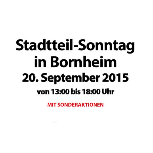 6 Flohmärkte am Stadtteil-Sonntag in Bornheim