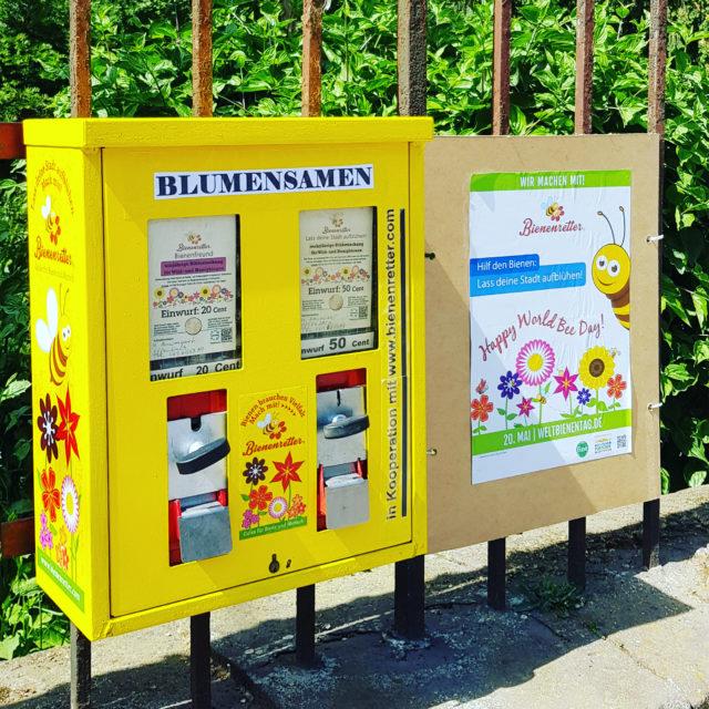 Bienen Futter Automat
