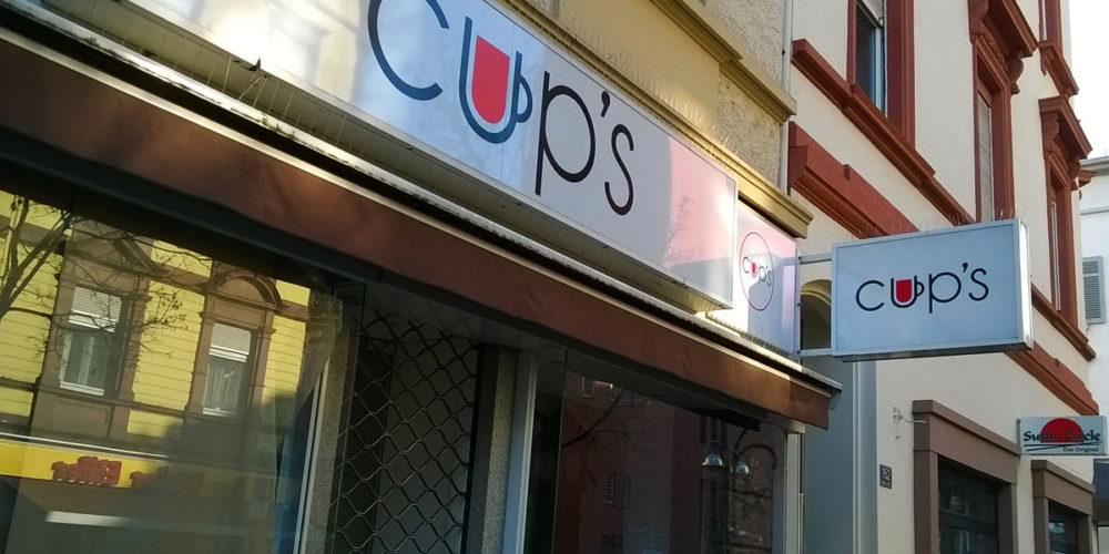 Demnächst in der Berger Straße: Cup's